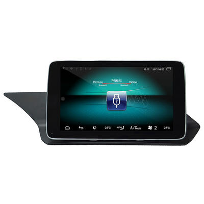 android 9.0 HD 1920*720car gps Anti-Glare car multimedia Benz E NTG4.5 with 4G carplay android auto