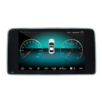 Android 10.0 Mercedes Benz ML NTG 4.5 multimedia HD IPS 9
